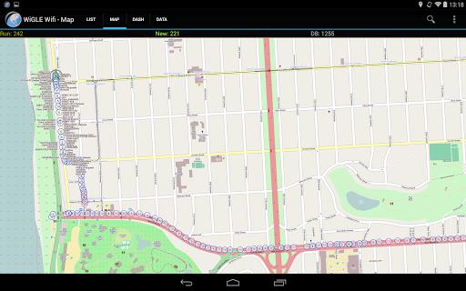 WiGLE WiFi Wardriving apktram screenshots 18