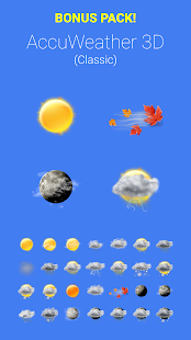 COLOR WEATHER ICONS FOR HDW