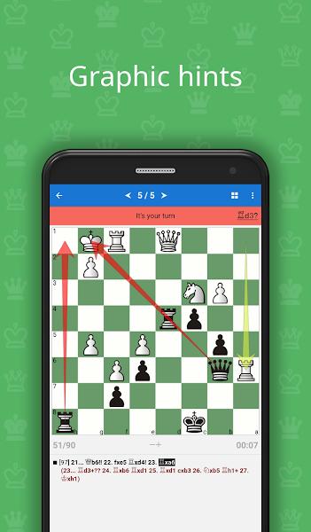Chess Tactics Art (1600-1800 ELO)