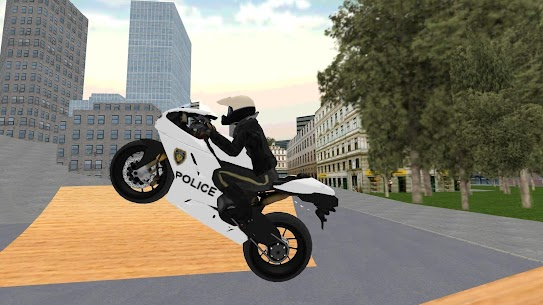 Police Motorbike Simulator 3D 1.14 MOD for Android 2