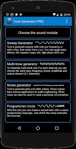 Download APK: Tone Generator v2.89 [Pro]