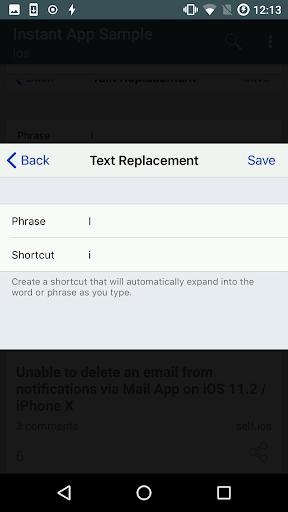 Instant App Sample 1.0.23 Screenshots 1