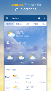 wetter.com – Weather and Radar 1