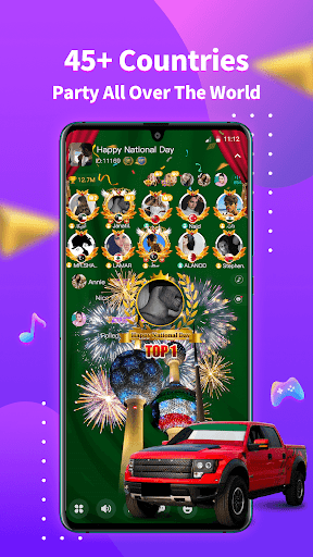 StarChat-Group Voice Chat Room  screenshots 1