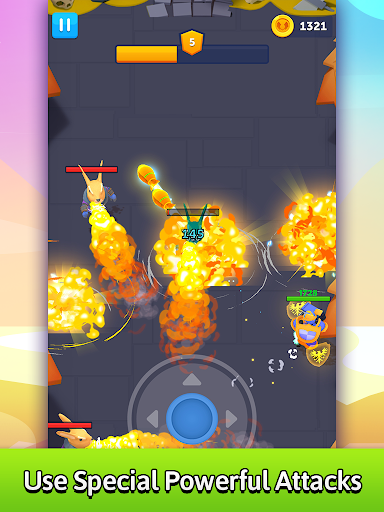 Bullet Knight: Dungeon Crawl Shooting Game android2mod screenshots 9