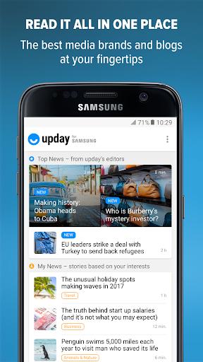 upday News – Top headlines & breaking news  screenshots 1