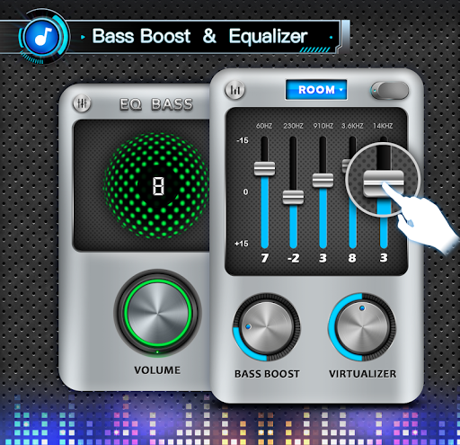 Equalizer, Bass Booster & Volume Booster - EQ 1.5.9 Screenshots 6
