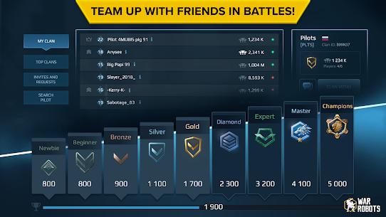 War Robots Multiplayer Battles (MOD, Unlimited Bullets) v6.6.1 5