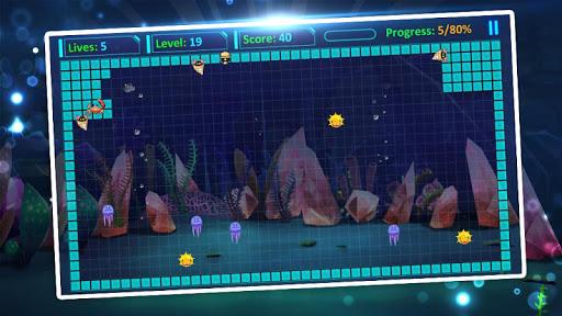 mr super fish: star hero fill build blocks screenshot 1