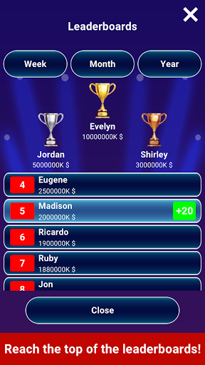 Millionaire 2020 -  Free Trivia Quiz Offline Game 1.5.3.1 screenshots 10