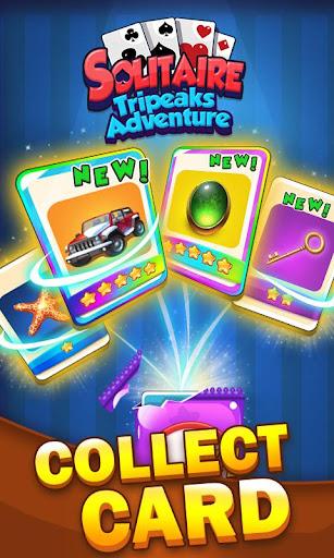 Solitaire Tripeaks Adventure - Free Card Journey 1.2.3 screenshots 5