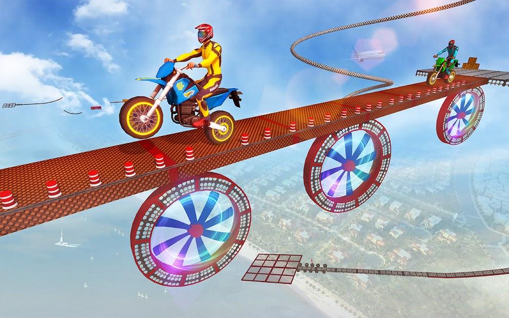 Impossible Tracks Bike Race Motorcycle Stunts screenshot 7