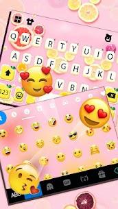Fruity Messenger Keyboard Theme 4