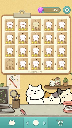 Fantastic Cat Dentist - Brick Breaker  screenshots 2