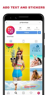 Grid Post – Photo Grid Maker for Instagram Profile MOD (Pro) 2