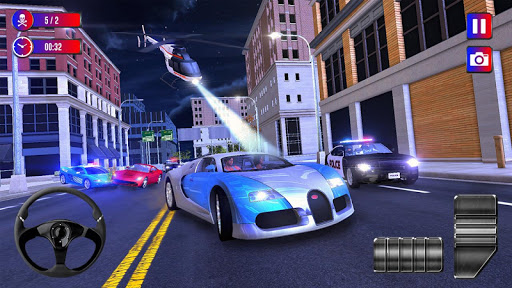 Police Cop Chase Racing: City Crime  apktcs 1