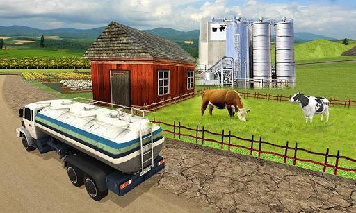 Cow farm milk factory farming dairy farm games  screenshots 2