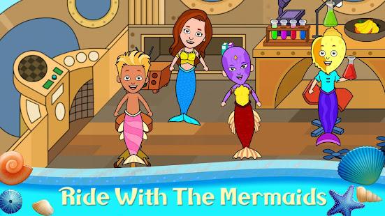My Tizi Town - Underwater Mermaid Games for Kids 1.0 Screenshots 2