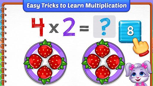 Multiplication Kids - Math Multiplication Tables apkpoly screenshots 3