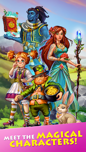 Free Farmdale  farming games  town with villagers Apk Download 2021 5