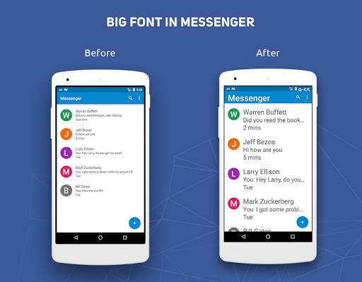 Big Font - Change Font Size & Text Size  Screenshots 3