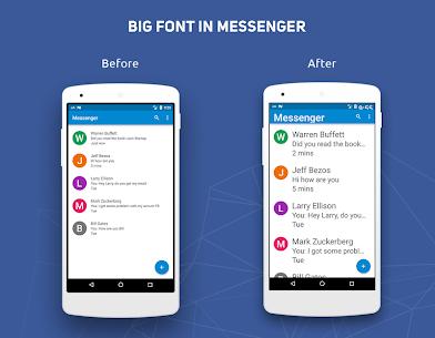 Big Font – Change Font Size & Text Size (PRO) MOD APK 3