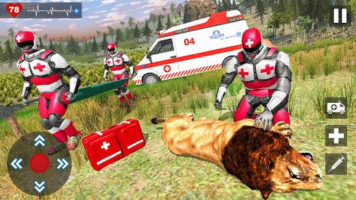 Animals Rescue Game Doctor Robot 3D  screenshots 11