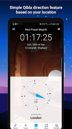 Athan Pro - Azan & Prayer Times & Qibla 3.1.1 Screenshots 3