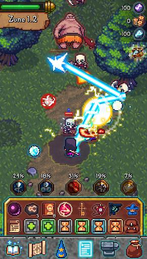 Tap Wizard: Idle Magic Quest 3.1.8 screenshots 1