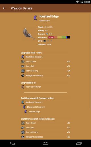 MHW Companion  screenshots 22