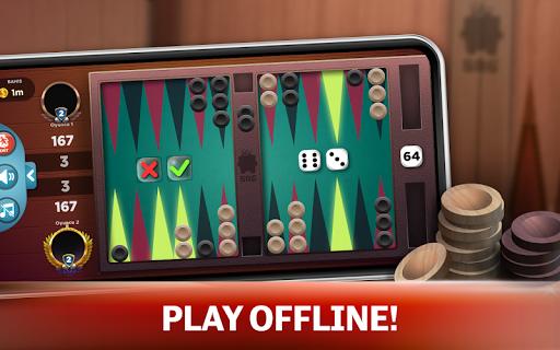 Backgammon - Offline Free Board Games 1.0.1 Screenshots 9