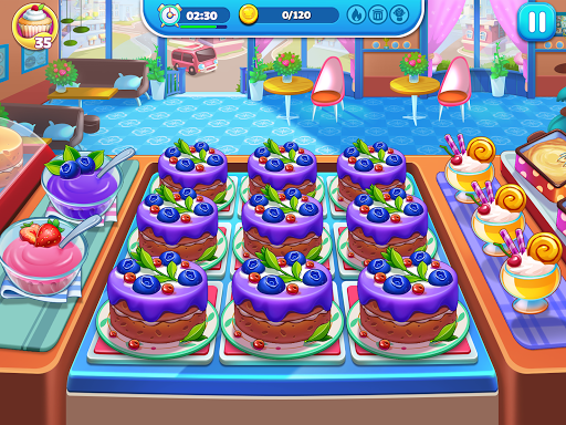 Cooking World: Diary Cooking Games for Girls City 2.1.3 Screenshots 2