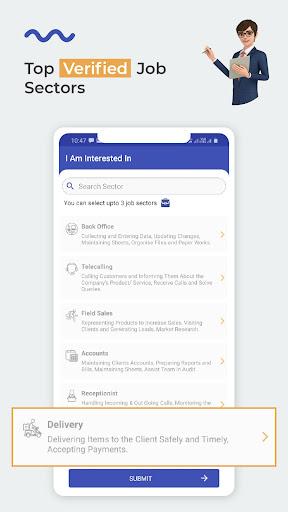 WorkIndia Job Search App - Work From Home Jobs apktram screenshots 3