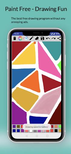 Paint Free - Drawing Fun modavailable screenshots 4