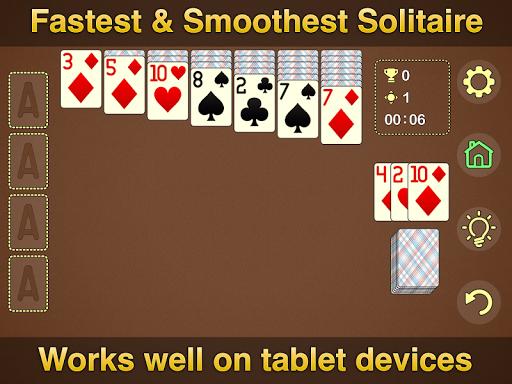 Solitaire Klondike - classic offline card game Apkfinish screenshots 11