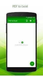 PDF to Excel – PDF File Converter with OCR MOD APK 1