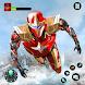 Flying Robot Hero - Crime City Rescue Robot Games