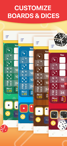 Yatzy - Dice Game  screenshots 6