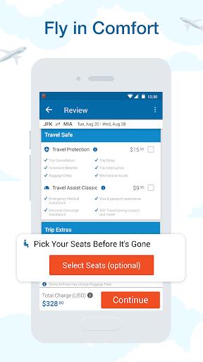 CheapOair: Cheap Flights, Cheap Hotels Booking App 3.20.18 Screenshots 2
