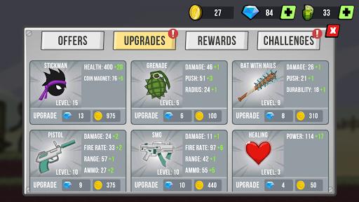 Stickman vs Zombies screenshots 2