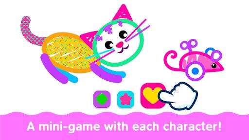Bini Toddler Drawing Apps! Coloring Games for Kids apktram screenshots 22