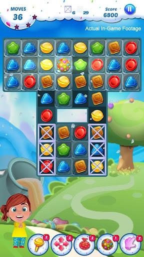 Gummy Candy - Match 3 Game 1.8 screenshots 2