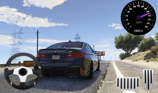 City Racer BMW M5 Parking Area 11.1 screenshots 2