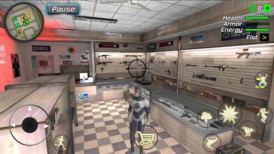 Hurricane Superhero Mod Apk: Wind Tornado Vegas Mafia (Unlimited Skills) 3