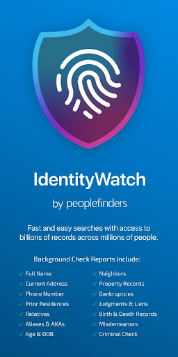 IdentityWatch (Background Check and People Search) 4.0 screenshots 1