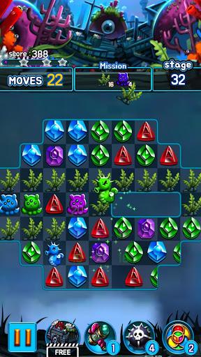 Jewel Kraken: Match 3 Jewel Blast 1.9.1 screenshots 7