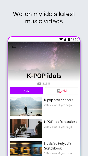 K-POP Stream : All about of KPop android2mod screenshots 10