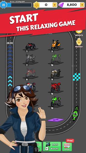 Merge Bike game Apkfinish screenshots 2