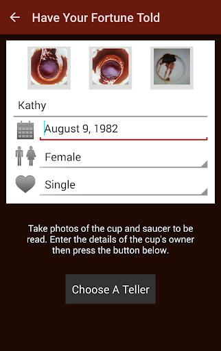 Kaave - Coffee Cup Readings  screenshots 1