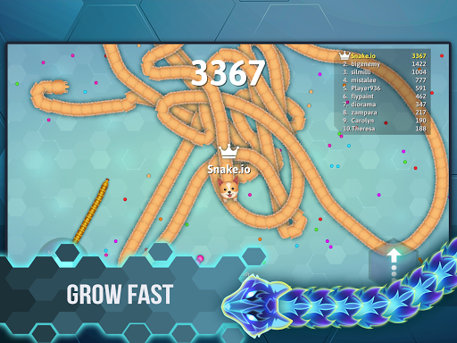 Snake.io - Fun Addicting Arcade Battle .io Games  screenshots 17